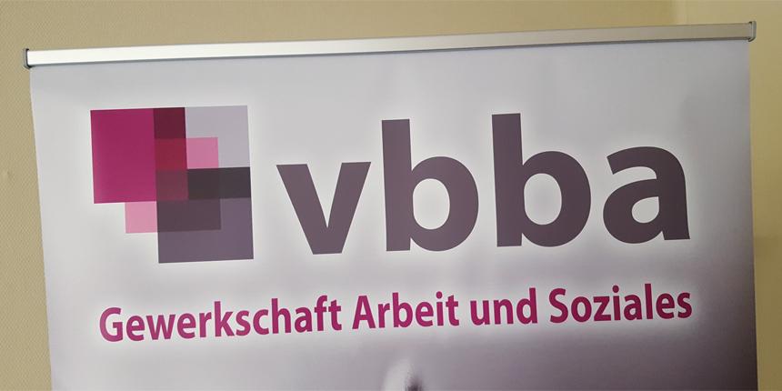 """Kampagne """"Gefahrenzone Öffentlicher Dienst"""" bei vbba in Brandenburg vorgestellt"""