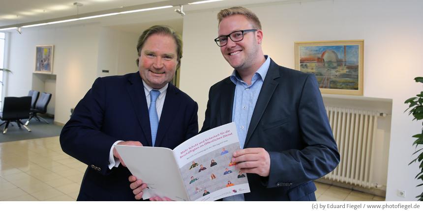 Austausch mit NRW-Finanzminister Lutz Lienenkämper
