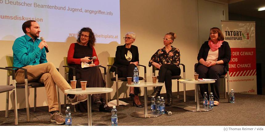 Fachtagung zum Thema Gewalt in Wien
