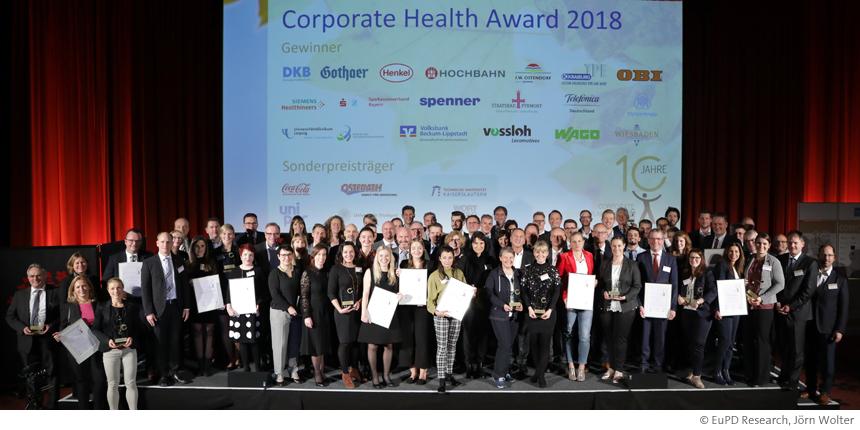"Bonn erhält Auszeichnung ""TOP Corporate Health Project"""