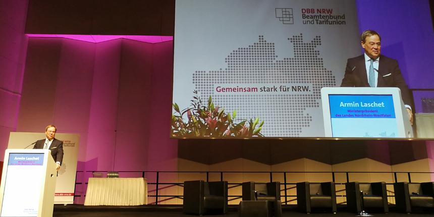 Armin Laschet auf DBB NRW-Gewerkschaftstag