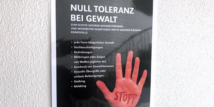 Anti-Gewalt-Kampagne bei der Stadt Wuppertal